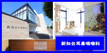 愛知県知多市にある「新知台耳鼻咽喉科」